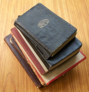 The journals Doc Alexander kept during the war. They are now held at the Military Museums in Calgary.