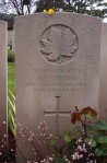 Trp. C.L. Provis, CATR, Dieppe Canadian War Cemetery. Rob Alexander photo.