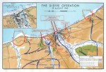 Dieppe Operation map. The Calgary Tanks landed at Red and White Beaches. Rob Alexander collection.