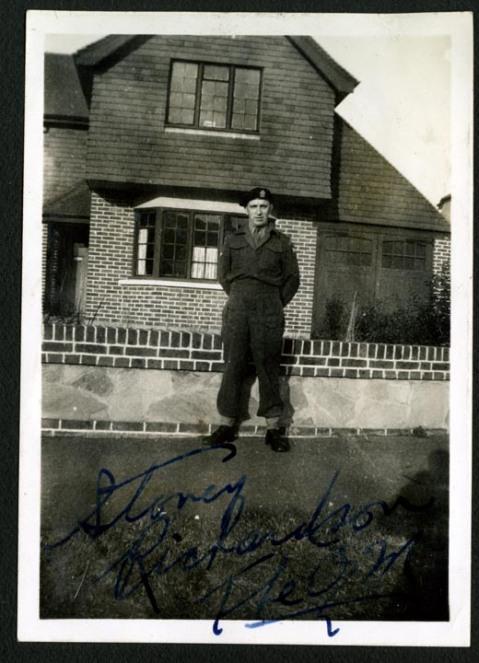Stoney Richardson. Alexander family collection.
