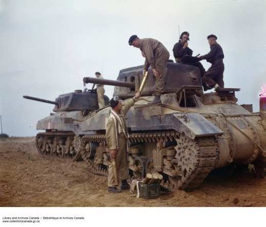 A Canadian Ram tank. Library and Archives Canada. www.collectionscanada.gc.ca