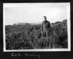 Col. Kealing at Tregantle Fort in Cornwall, 1941. Alexander family collection.