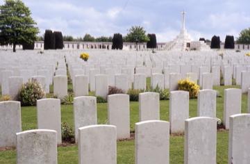 Tyne Cot Cemetery, Belgium. Rob Alexander photo