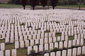 Tyne Cot Cemetery, Belgium. Rob Alexander photo.