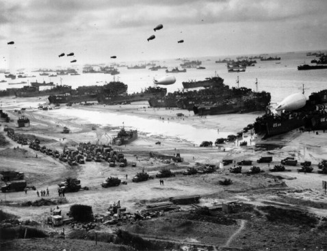 Normandy invasion 1944.